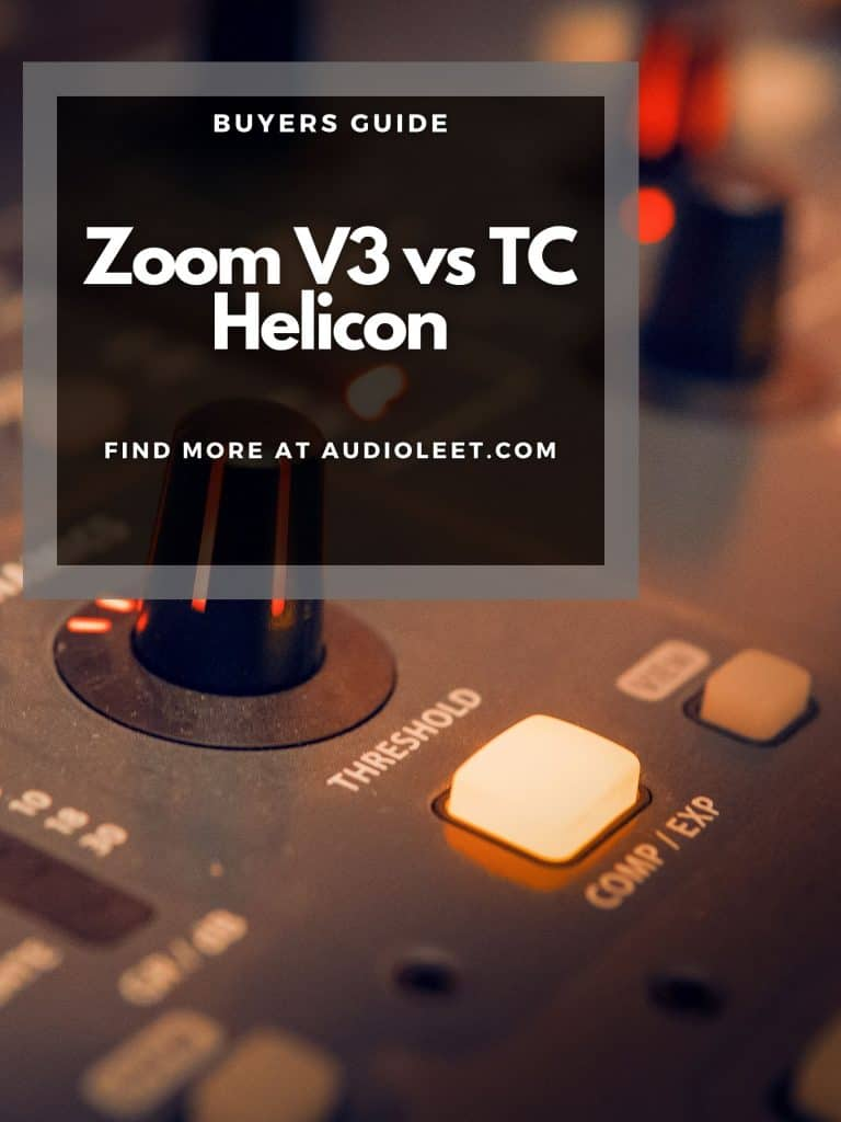 Zoom V3 vs TC Helicon